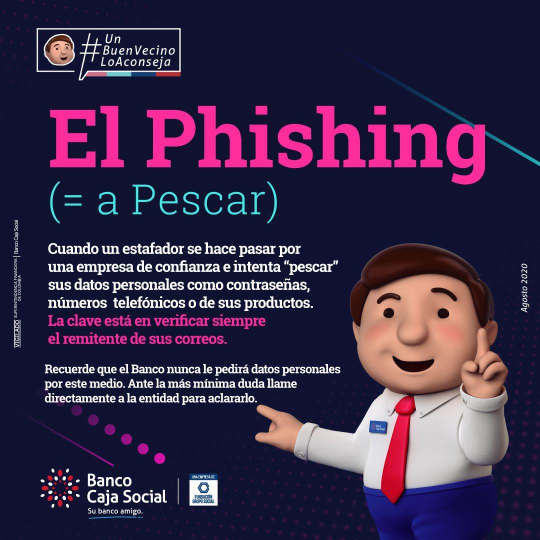 El Phishing es igual a pescar